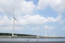 Free A Wind-power Station Stock Photos - 15032903