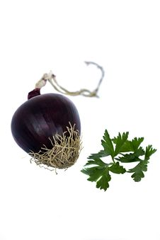 Free Red Onion Royalty Free Stock Photography - 15032967