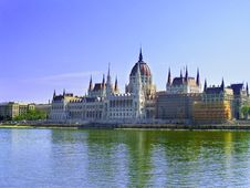 Free Parliament In Budapest Stock Photos - 15033643
