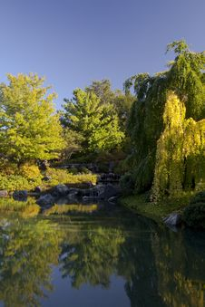 Free Waterfalls And Lake Royalty Free Stock Photos - 15033688