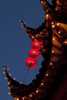 Chinese Lights Stock Image