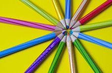 Free Pencil Starburst Royalty Free Stock Photo - 15033795