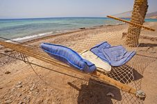 Free Hammock On A Tropical Beach Stock Photography - 15034572
