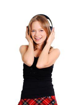 Free Teenage Listening To Music Stock Photo - 15034720