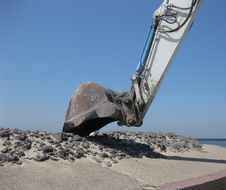 Free Excavating Machine Stock Photo - 15034970