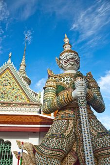 Free Thai Antique Giant Royalty Free Stock Photos - 15035648