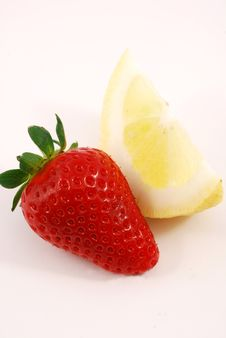 Free Strawberry And Lemon Stock Images - 15035694