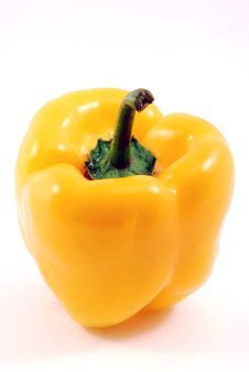 Free Yellow Pepper Royalty Free Stock Photo - 15036145