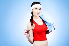 Sport And Water Royalty Free Stock Photography