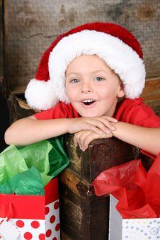 Free Christmas Boy Royalty Free Stock Image - 15038746
