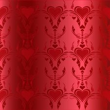 Free Red Hearts Pattern Royalty Free Stock Image - 15039176