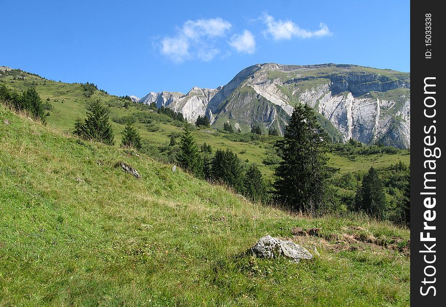 Site of the collar of neck, France
