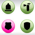 Free Safety Icons. Royalty Free Stock Photography - 15045077
