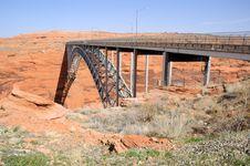 Free Glen Canyon  Bridge Stock Image - 15040511