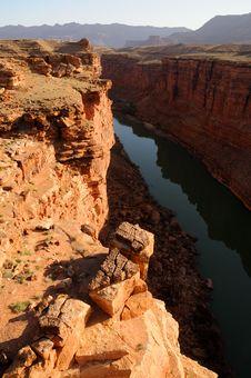 Free Sunrise Over Marble Canyon Royalty Free Stock Image - 15040606