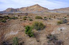 Sandstone Badlands Near Big Water Royalty Free Stock Photo