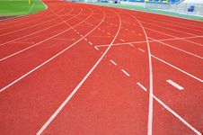 Free Runner Track Stock Photography - 15040852