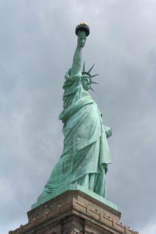 Magestic Lady Liberty Stock Photo