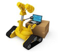 Free Robotic Computing Royalty Free Stock Image - 15041436
