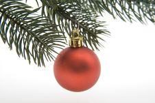 Free Christian Tree Ball Stock Image - 15042081