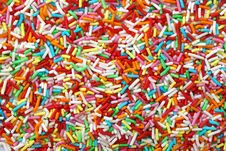 Free Sprinkles As A Backgroung Stock Image - 15042861