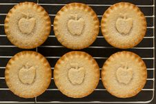 Free Apple Pies On A Cooling Tray Stock Image - 15045621