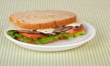 Free Roast Beef Sandwich Royalty Free Stock Image - 15045756