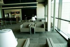 Free Airport Lounge Royalty Free Stock Photography - 15046417