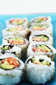 Free Fresh Sushi Stock Photo - 15046420