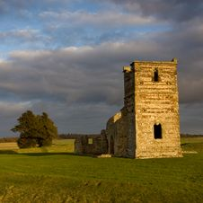 Free Knowlton Church, Dorset, UK Stock Images - 15046844