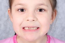 Free Gap Toothed Grimace Stock Photos - 15046893