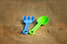 Free Beach Toys Stock Photography - 15047392