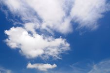 Free Blue Sky And Cloud Royalty Free Stock Photos - 15047488