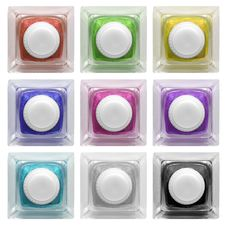Free Real Glass Button Set 3 | Isolated Stock Image - 15047781