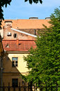 Free Wall, Window And Tree. Stock Image - 15052221