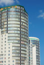 Free Block Of Flats With Blue Sky Royalty Free Stock Images - 15057919