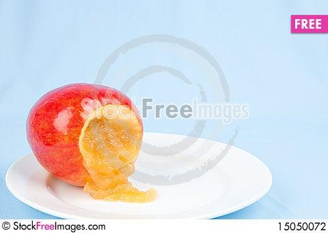 Free Apple Sauce Stock Photography - 15050072