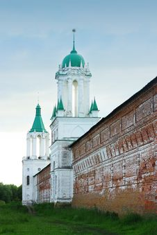 Free Ancient Church In Rostov Veliky. Stock Images - 15050524