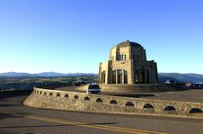 Free Vista House At Sunset. Stock Photos - 15051013