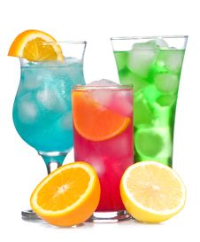 Free Cocktails With Fruits Royalty Free Stock Photo - 15051535