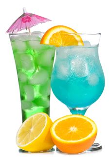 Free Cocktails With Fruits Stock Photography - 15051582