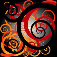 Free Orang Ulu Motif Design Stock Image - 15051721