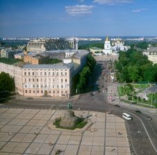 Free Kyiv. Royalty Free Stock Photos - 15051868