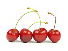 Free Cherries Royalty Free Stock Photography - 15052167