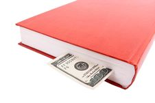 Free One Hundred Dollars In Book Stock Photography - 15052722
