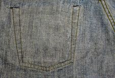 Free Inside Blue Jeans Texture Royalty Free Stock Photos - 15053298