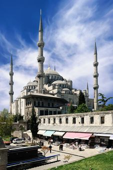 Free Blue Mosque Royalty Free Stock Images - 15053889