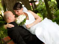 Free Bride And Groom Stock Photo - 15054080