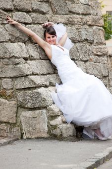 Free Beautiful Bride Royalty Free Stock Photography - 15054097