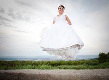Free Happy Bride Royalty Free Stock Photography - 15054107